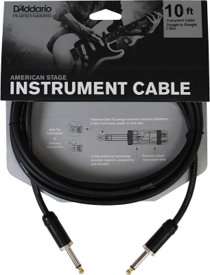 PW-AMSG-10 i gruppen Kablar / Planet Waves / Instrument Cables / American Stage Series hos Crafton Musik AB (370700457050)