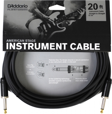 PW-AMSG-20 i gruppen Kablar / Planet Waves / Instrument Cables / American Stage Series hos Crafton Musik AB (370700487050)